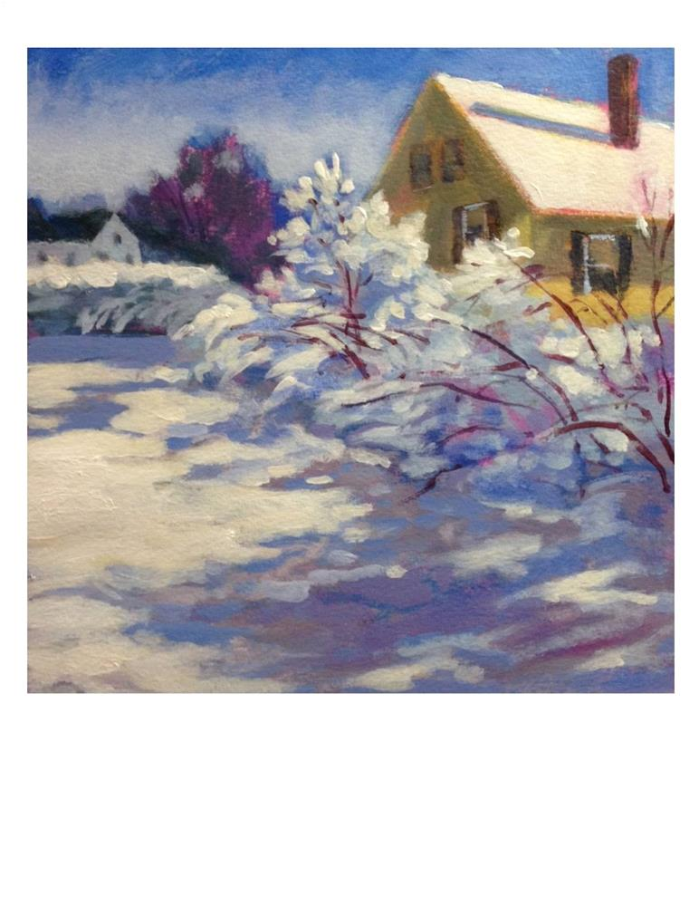 """Shadow Study 2"" original fine art by Suzanne Woodward"