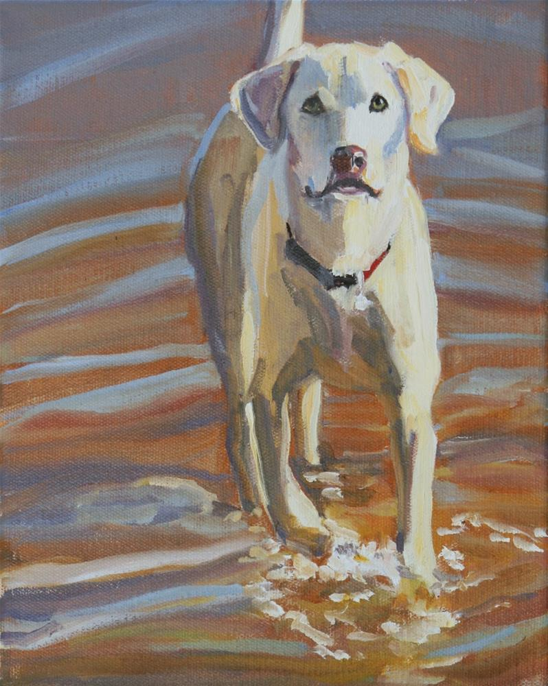 """scout"" original fine art by Carol Carmichael"