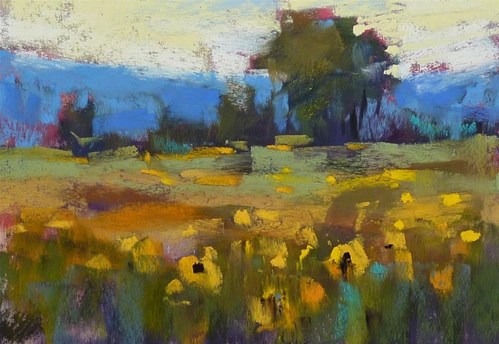 """The Secret to Choosing Underpainting Colors...From the Archives"" original fine art by Karen Margulis"