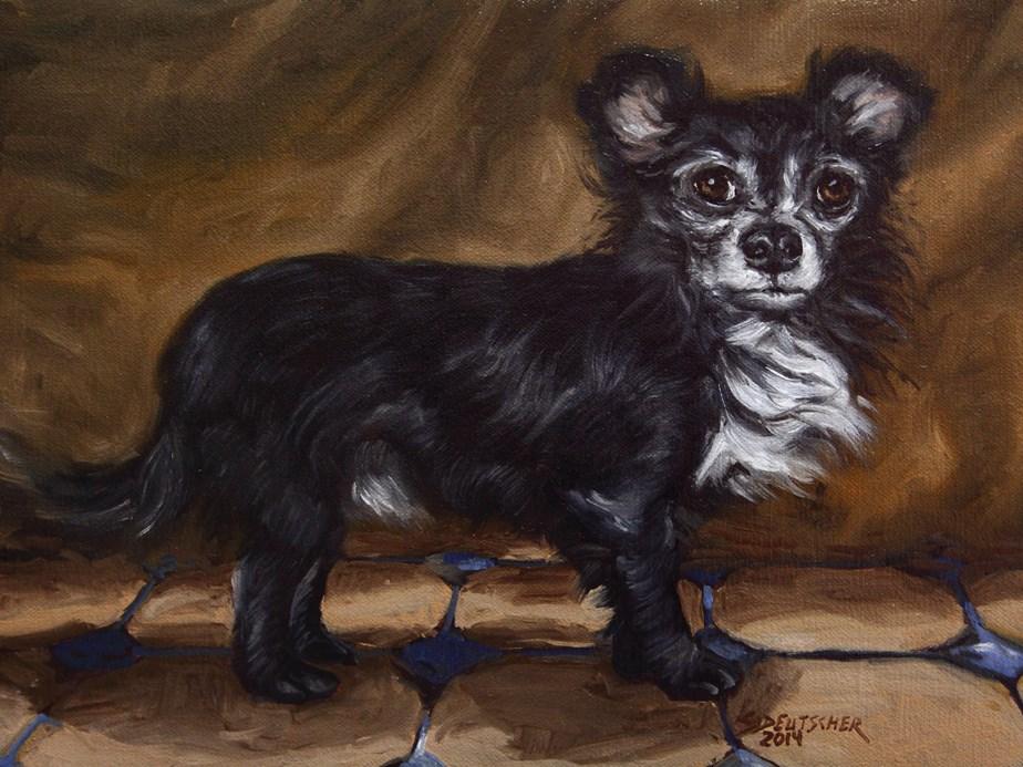 """""""Mike's TC"""" original fine art by Sue Deutscher"""