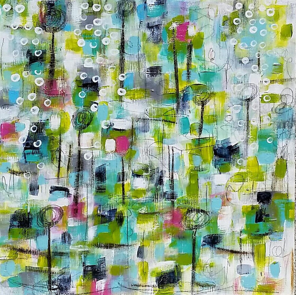 """Spring Flurry"" original fine art by Christy Tremblay"