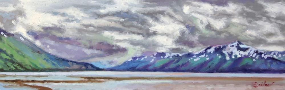"""Turnagain Arm"" original fine art by Larry Seiler"