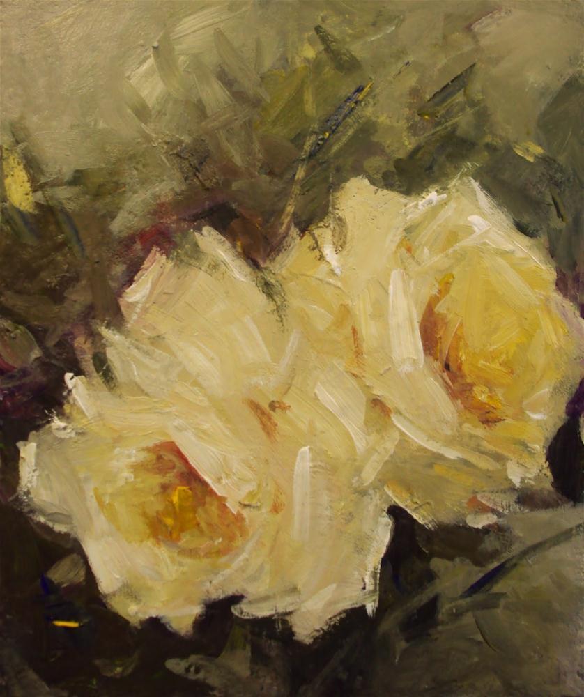 """""""Roses forever"""" original fine art by Parastoo Ganjei"""
