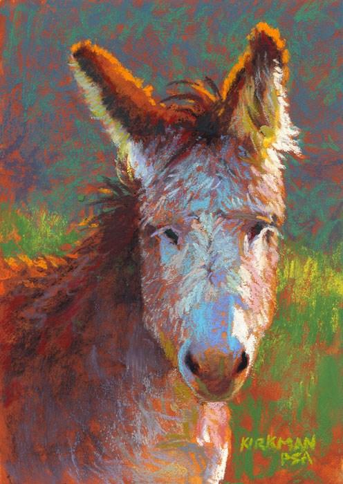 """Don Keefe"" original fine art by Rita Kirkman"