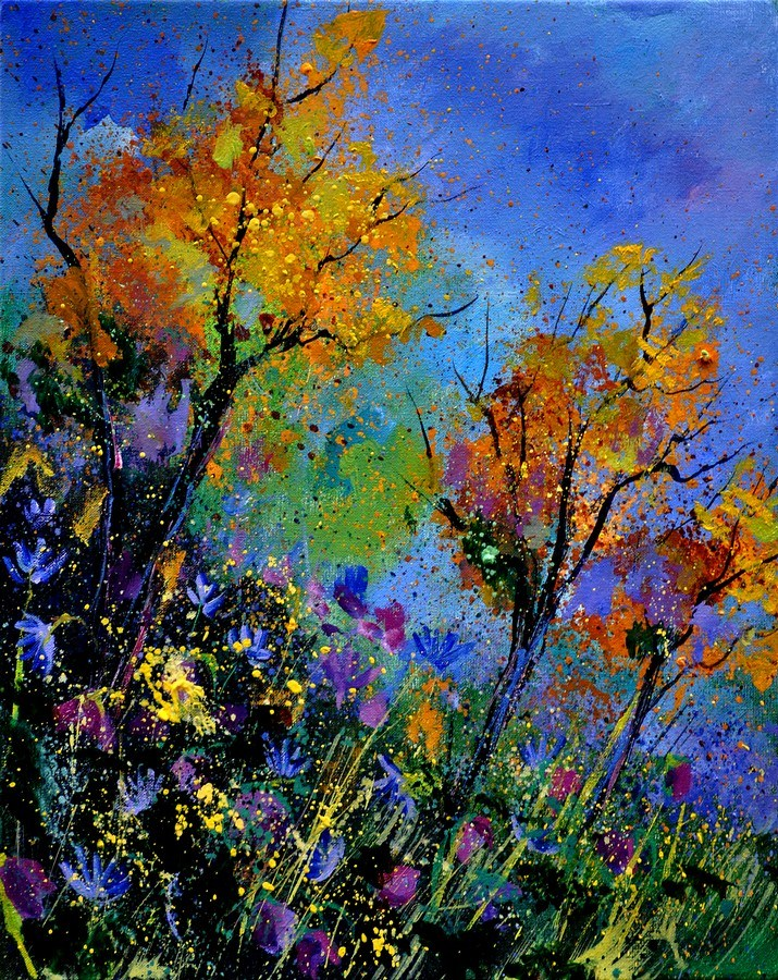"""end of summer"" original fine art by Pol Ledent"