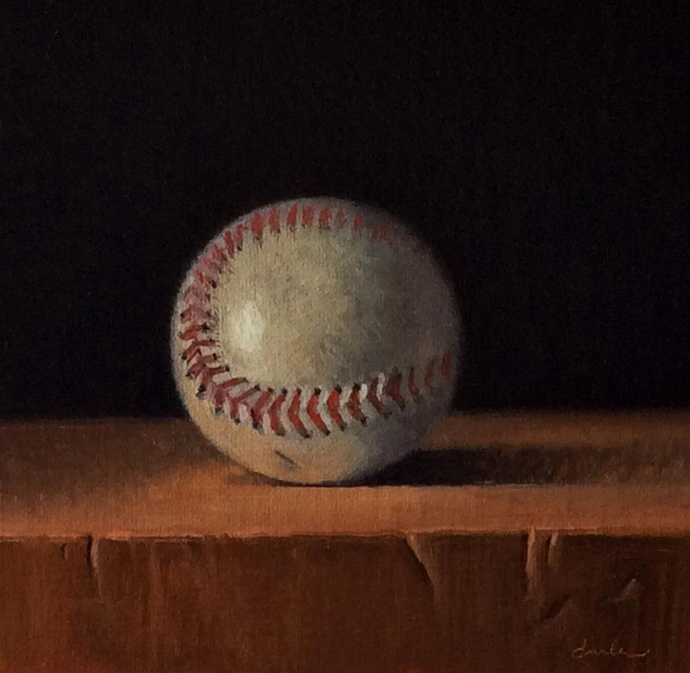 """Rain Delay"" original fine art by Darla McDowell"