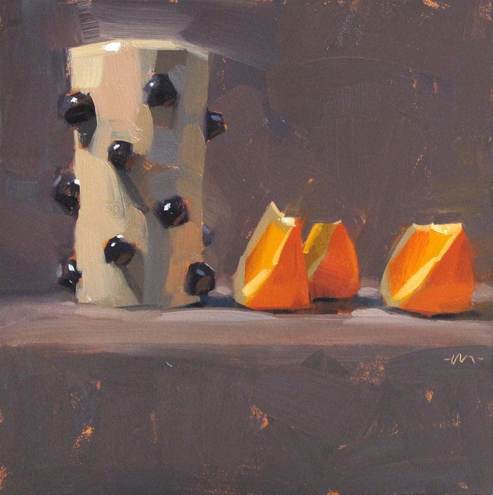 """Knobby Shadow Maker"" original fine art by Carol Marine"