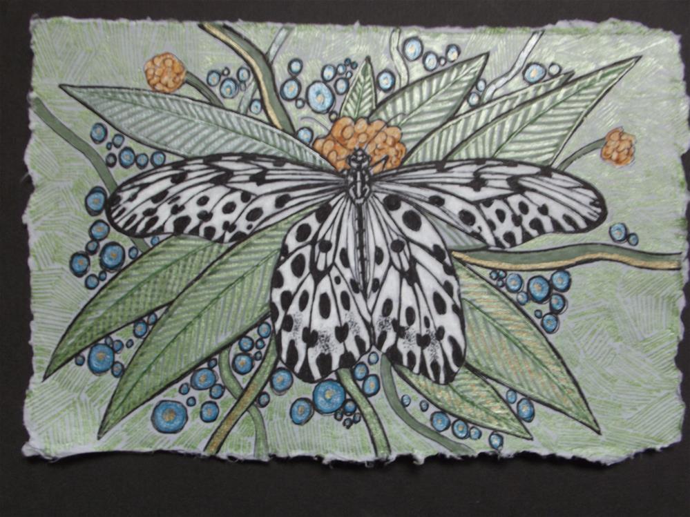 """Tree Nymph"" original fine art by wanda sigafus"