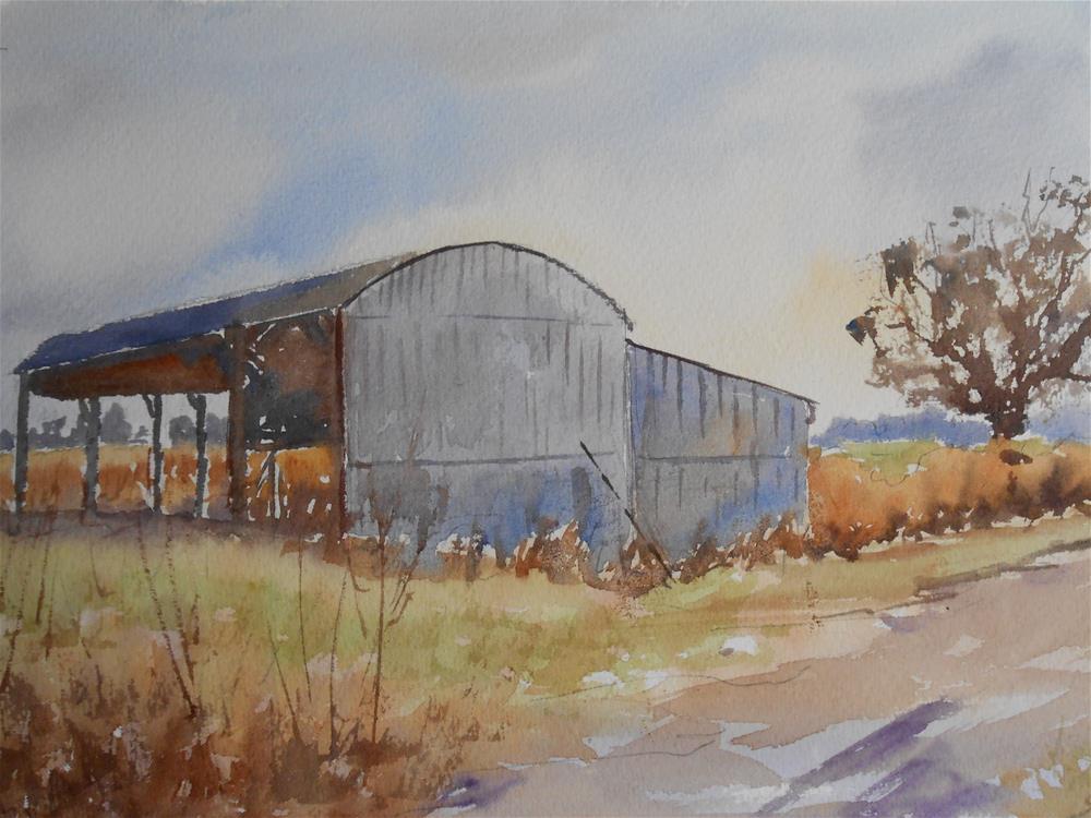 """""""Winter Stillness"""" original fine art by Graham Findlay"""