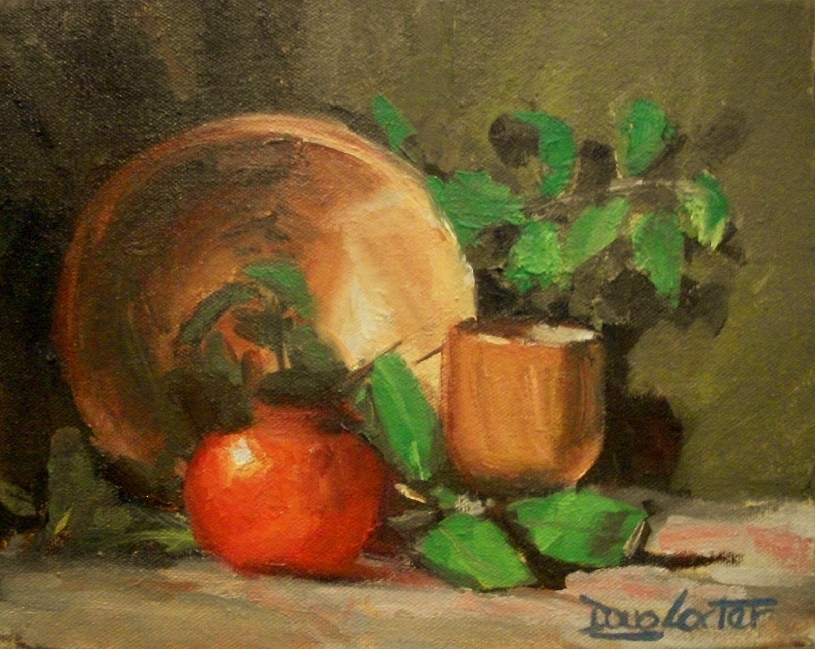 """Apple Bowl  Revisited"" original fine art by Doug Carter"