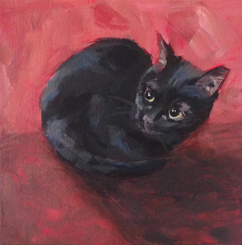 """Olive No. 12"" original fine art by Shannon Bauer"