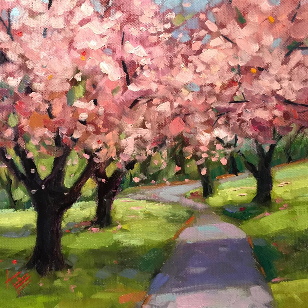 """Memories of Spring"" original fine art by Krista Eaton"
