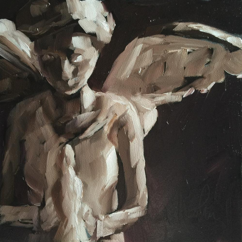"""My Angel"" original fine art by Hallie Kohn"