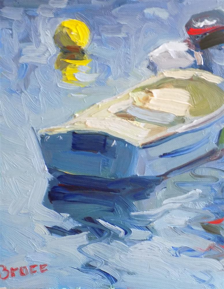 """Tide Up In Duxbury"" original fine art by Rita Brace"