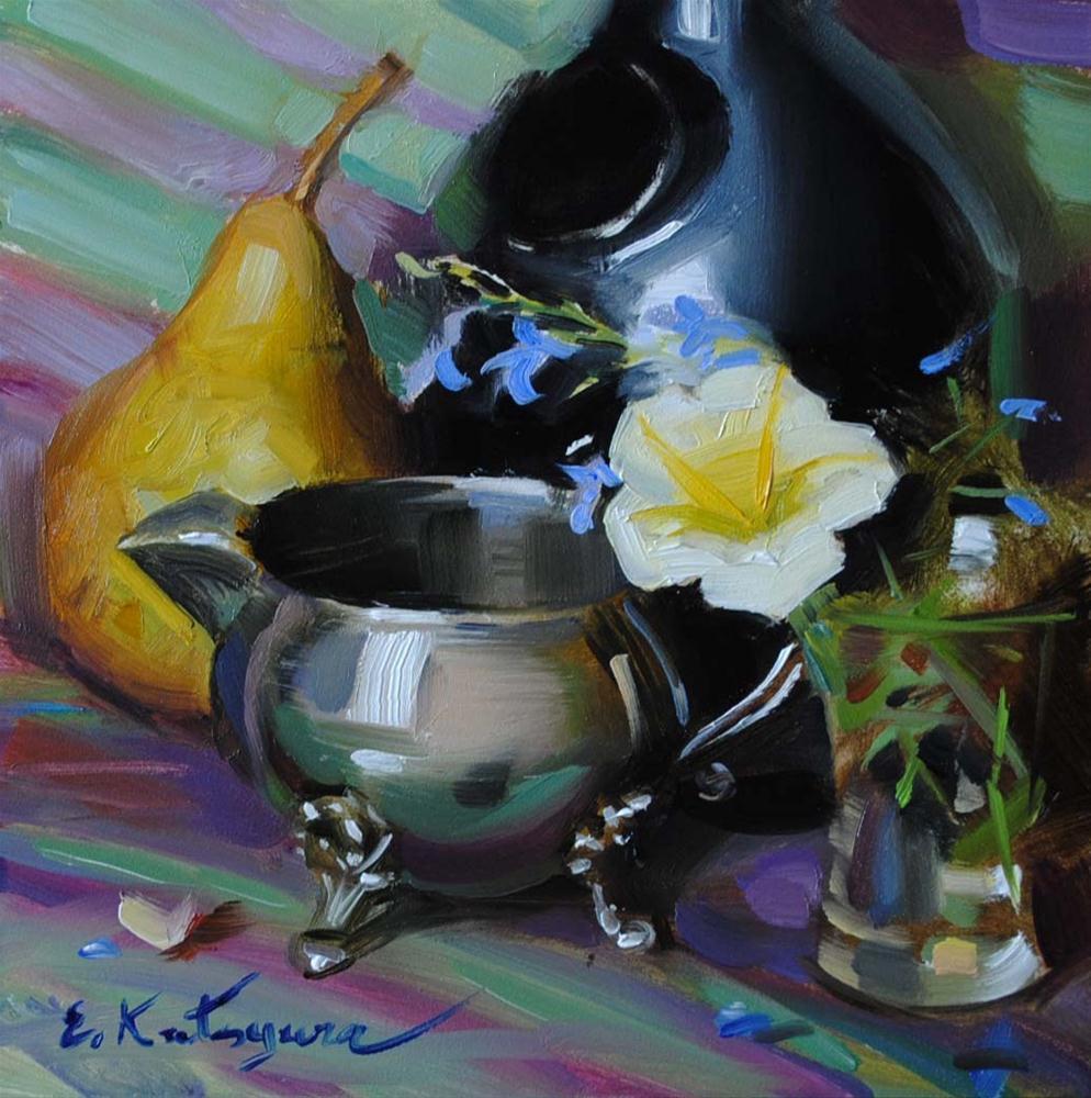 """""""Variety"""" original fine art by Elena Katsyura"""
