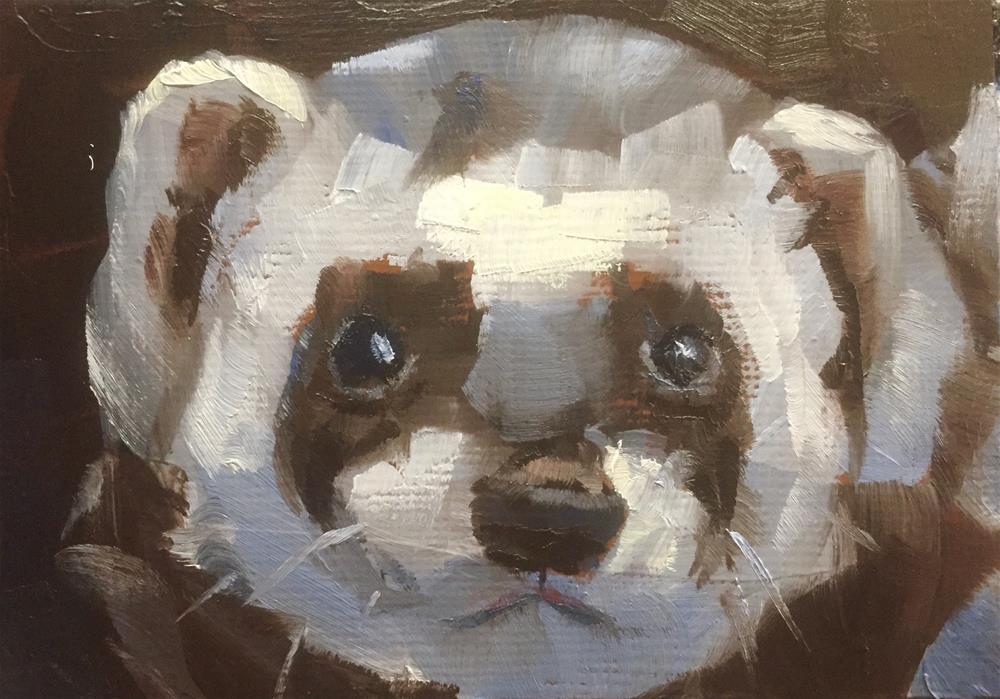 """""""I'm Ready For My Closeup"""" original fine art by Gary Bruton"""