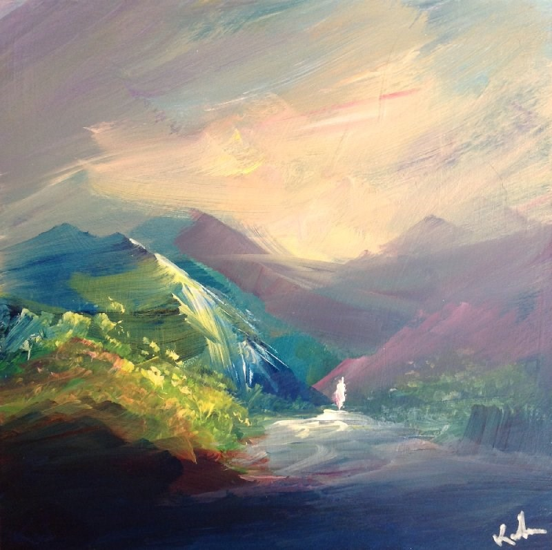 """Catching the Light"" original fine art by David Kuhn"