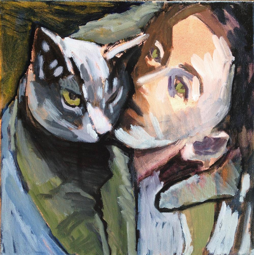"""Vegan Wrap"" original fine art by Pamela Hoffmeister"