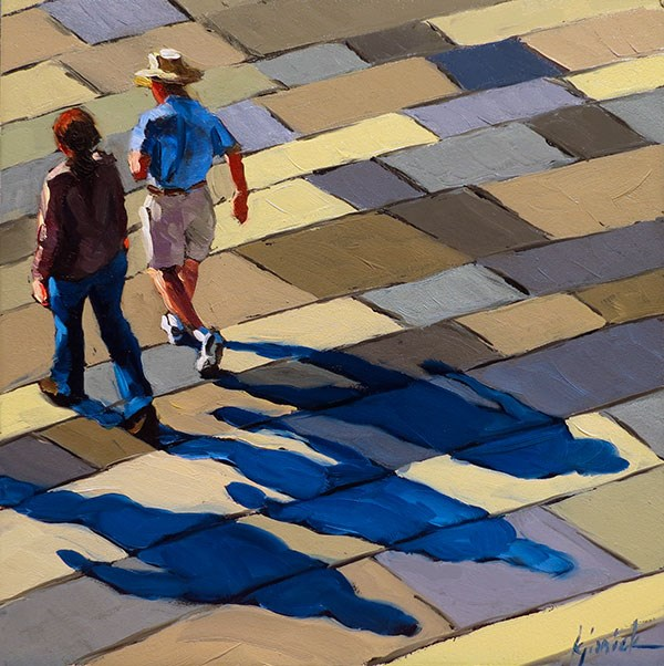 """Shadows"" original fine art by Karin Jurick"