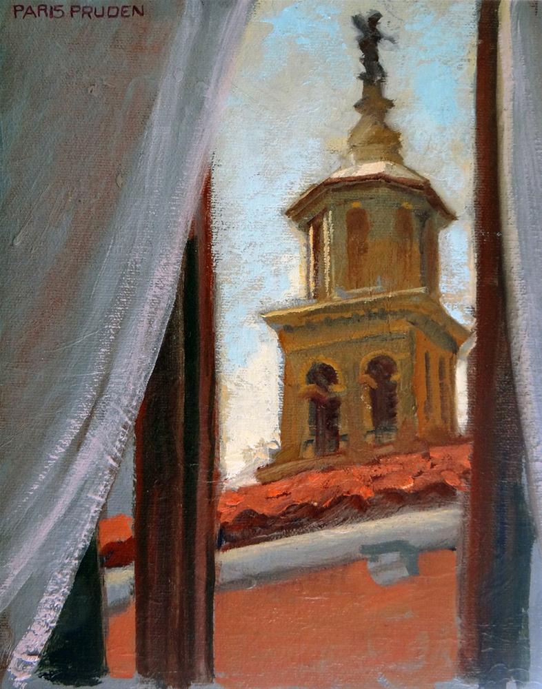 """Venice Out my Window"" original fine art by Nancy Paris Pruden"