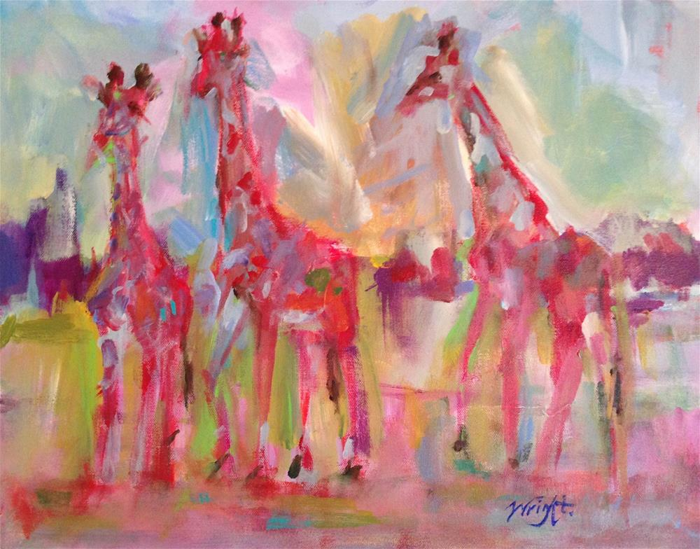 """In Good Company"" original fine art by Molly Wright"