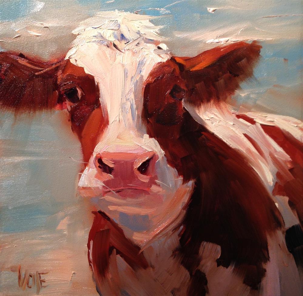 """""""#215 Brie"""" original fine art by Patty Voje"""
