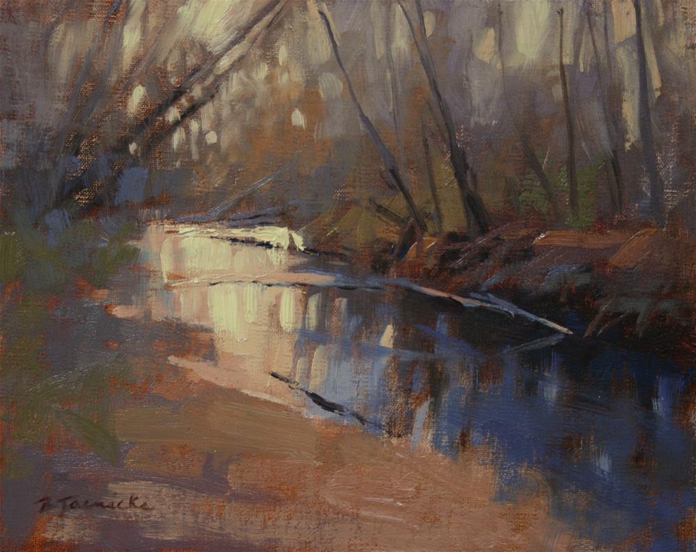 """A Brief Impression (oil study)"" original fine art by Barbara Jaenicke"