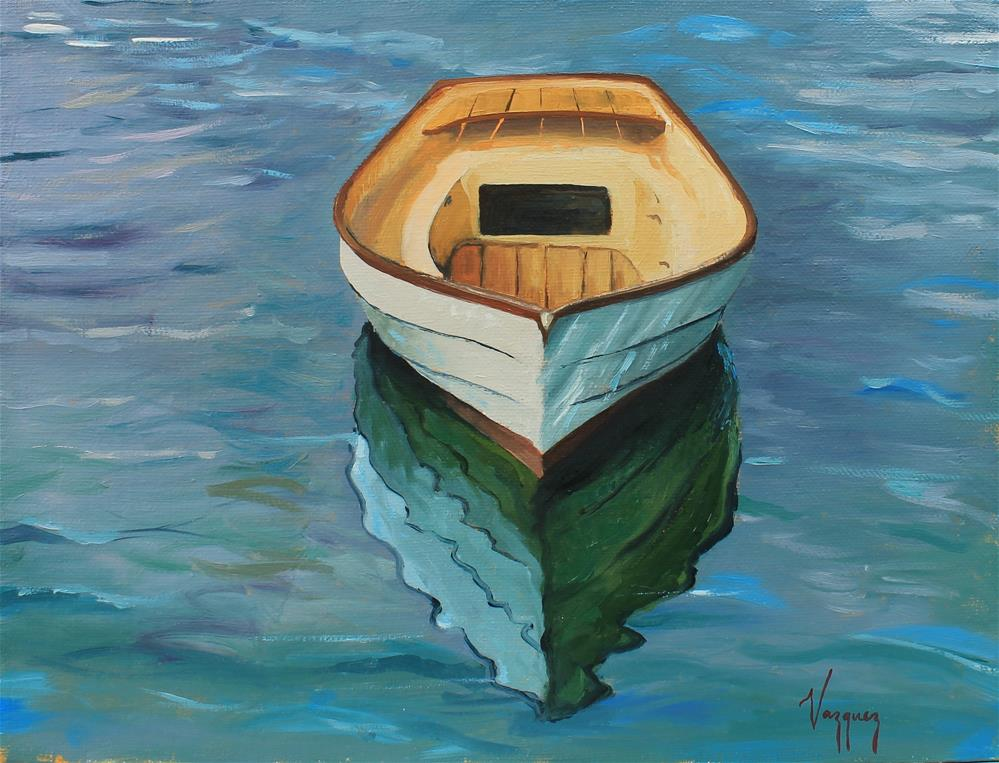 """Reflected"" original fine art by Marco Vazquez"