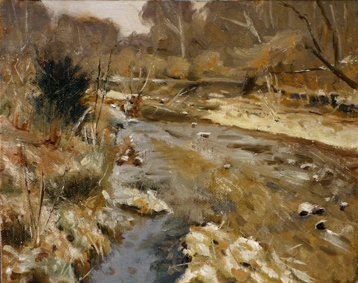 """Castlewood Park"" original fine art by Daniel Fishback"