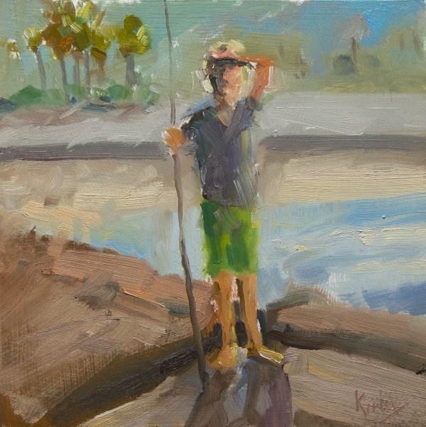 """Scouting"" original fine art by Randall Cogburn"