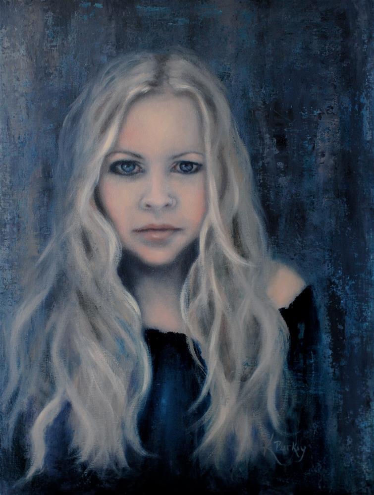 """""""Portrait of Hannah"""" original fine art by Kelly Berkey"""