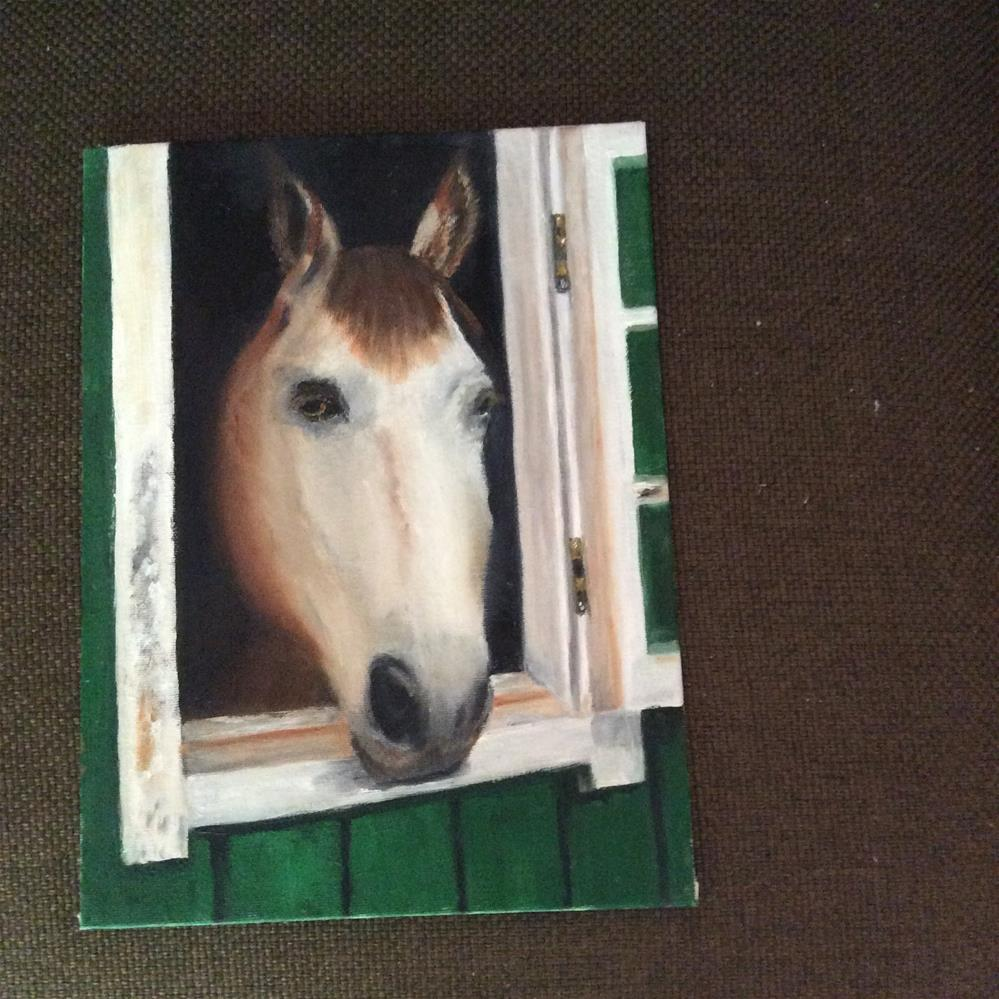 """Molly Mare"" original fine art by Jeanne Bossart"