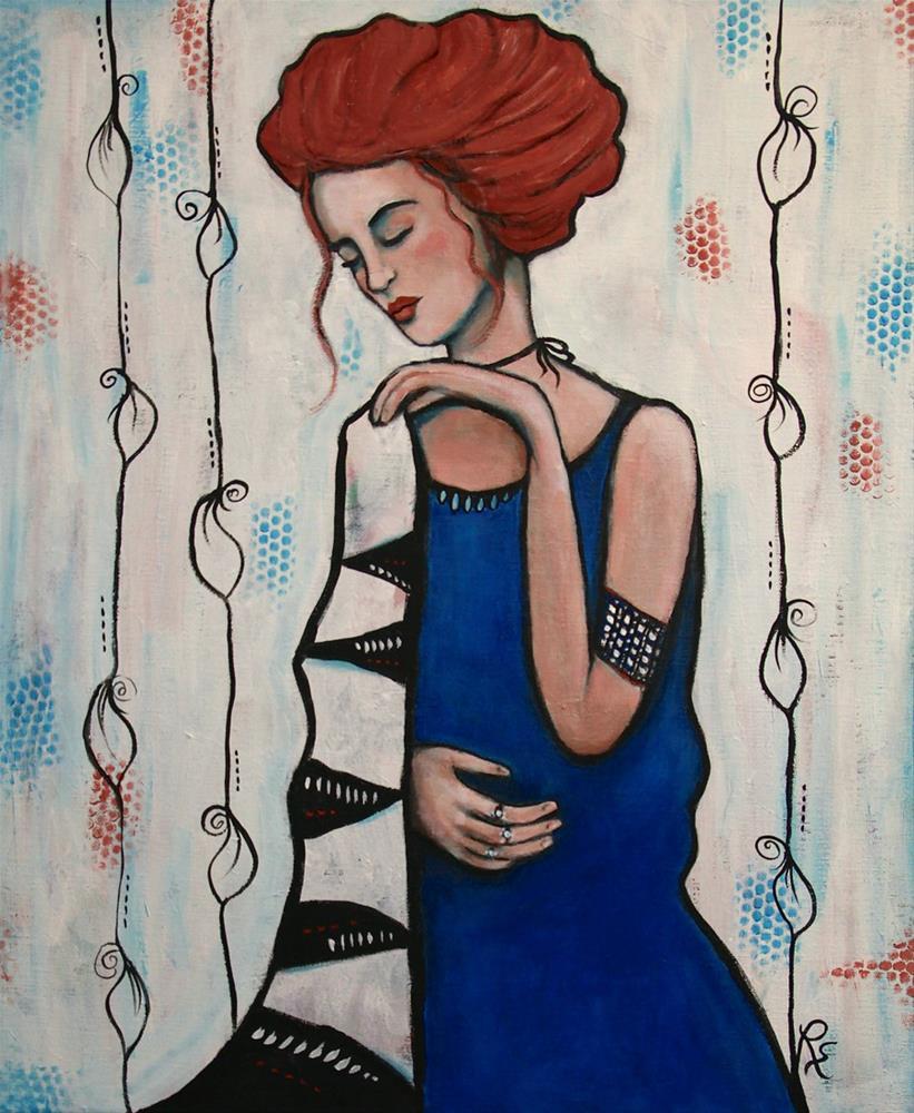 """""""Time Will Tell"""" original fine art by Roberta Schmidt"""