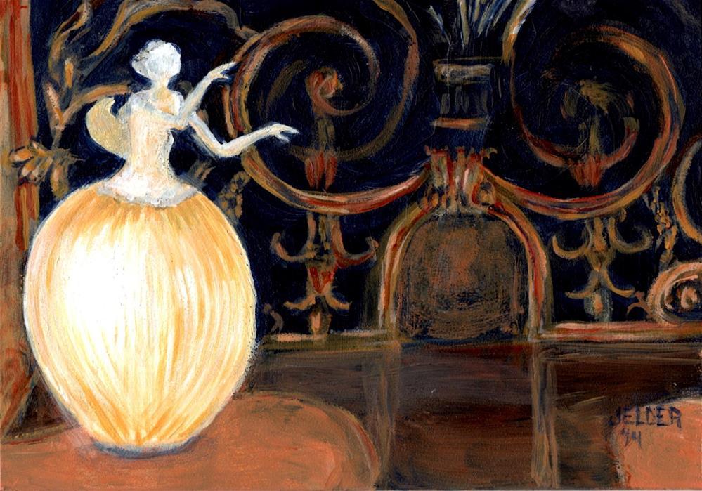 """Paris No. 46"" original fine art by Judith Elder"