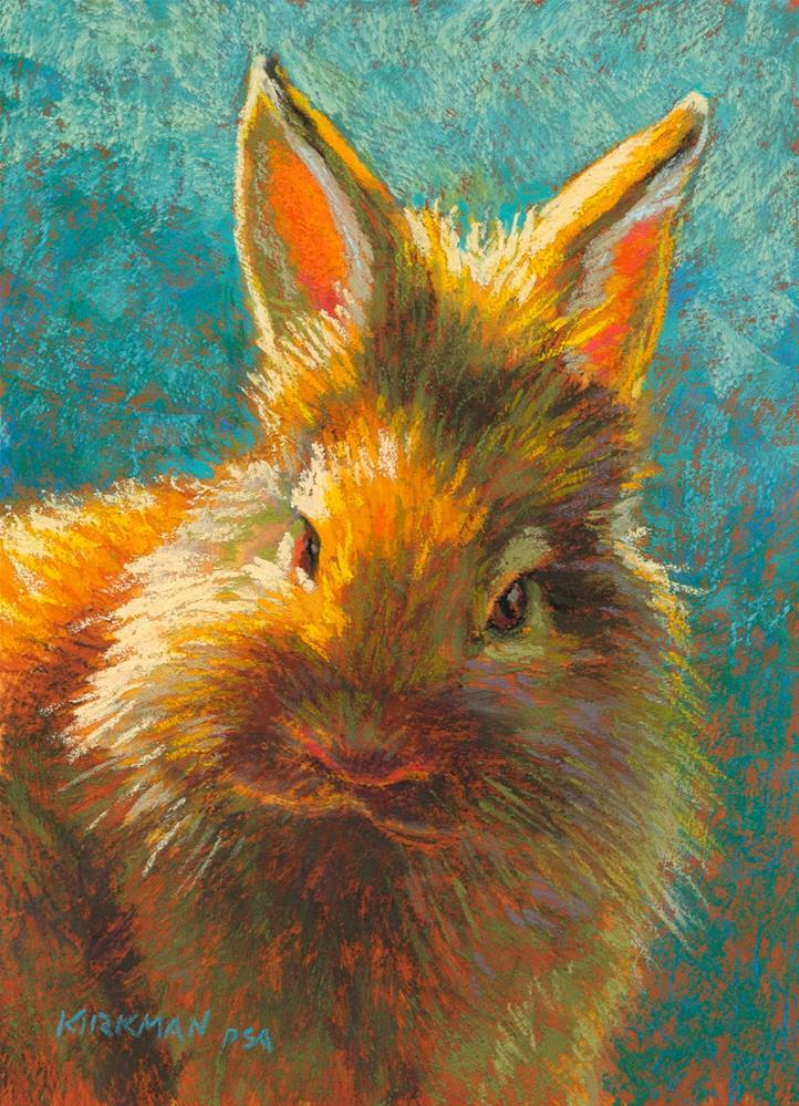 """Dust Bunny"" original fine art by Rita Kirkman"