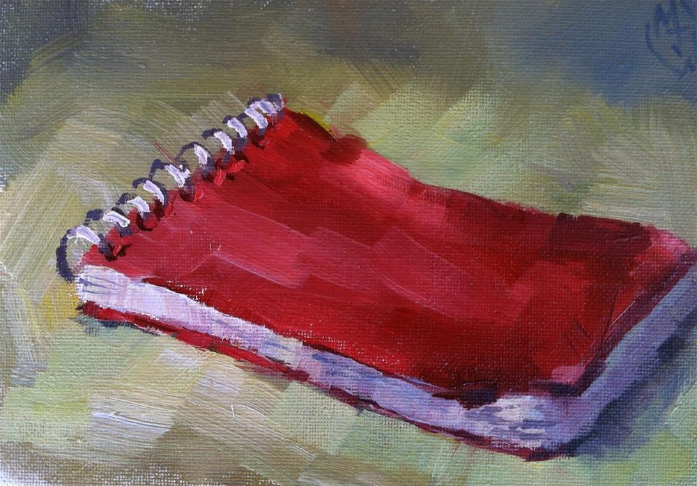 """The Notebook"" original fine art by Michael Williamson"