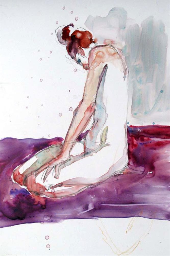 """""""Trawler Maid"""" original fine art by Myriam Kin-Yee"""