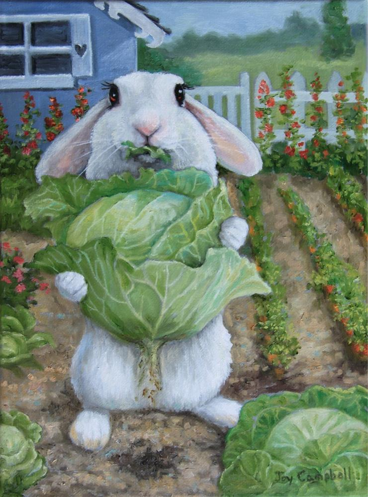 """Fresh Picked"" original fine art by Joy Campbell"