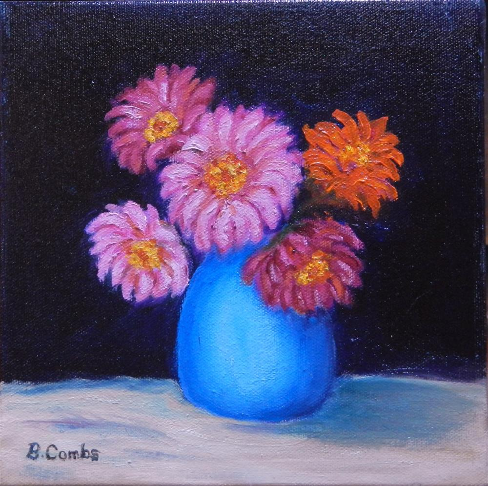 """Kay''s Flowers"" original fine art by Bebe Combs"