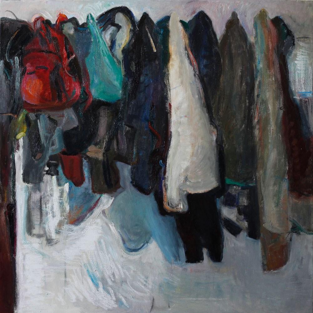 """""""Hanged Coats¨"""" original fine art by Anna  Fine Art"""