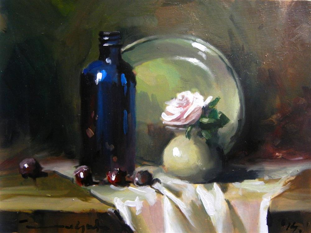"""Midnight at home"" original fine art by Dragan Culjak"