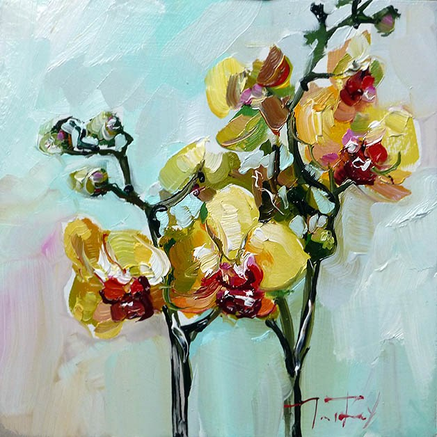 """Orchidee"" original fine art by Jurij Frey"