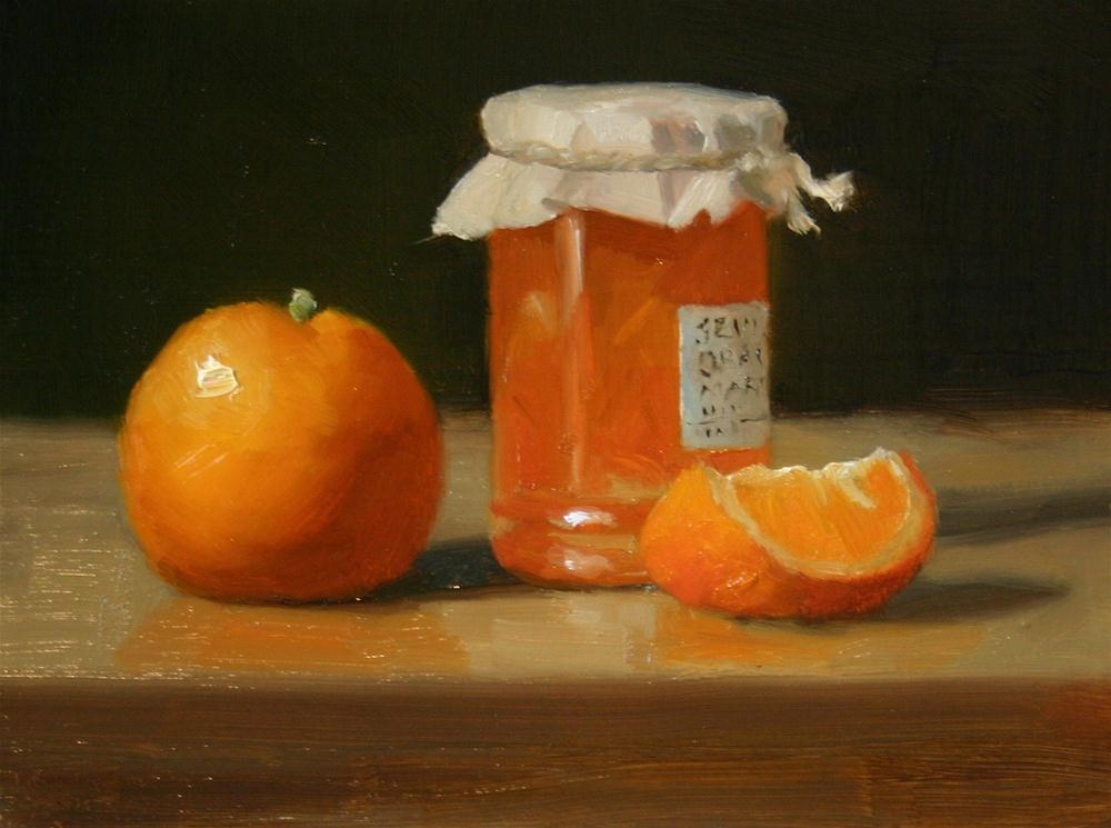 """Seville Orange Marmalade"" original fine art by Liz Balkwill"