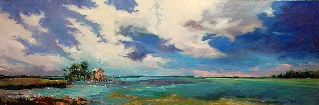"""""""The Last Best Place"""" original fine art by Mary Maxam"""
