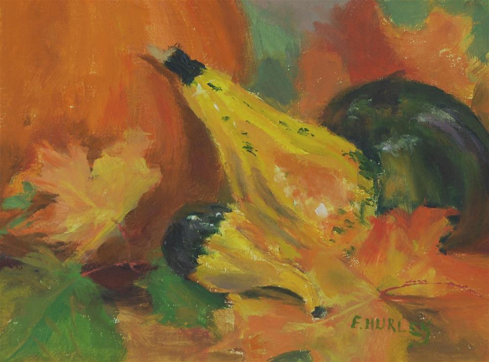 """Fall Harvest"" original fine art by Ellen Hurley"