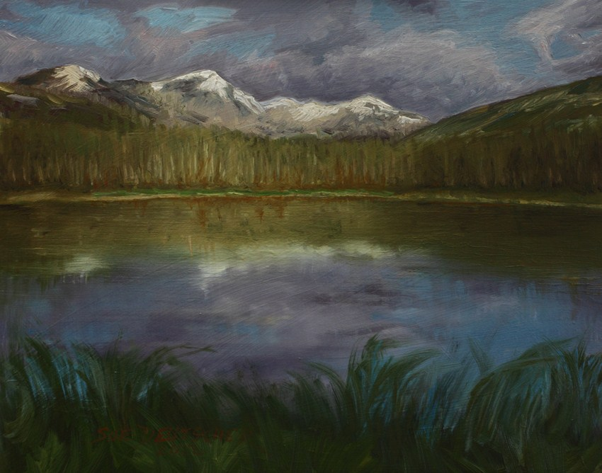 """Rocky Mountain National Park, Colorado"" original fine art by Sue Deutscher"