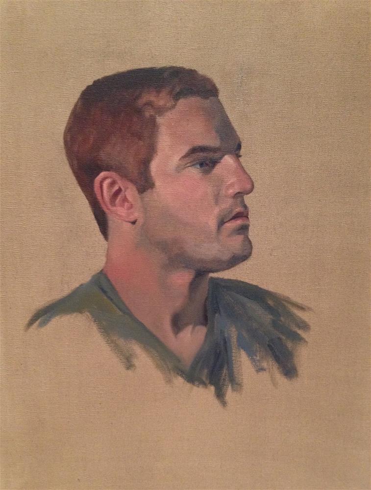 """Kyle"" original fine art by Philla Barkhorn"