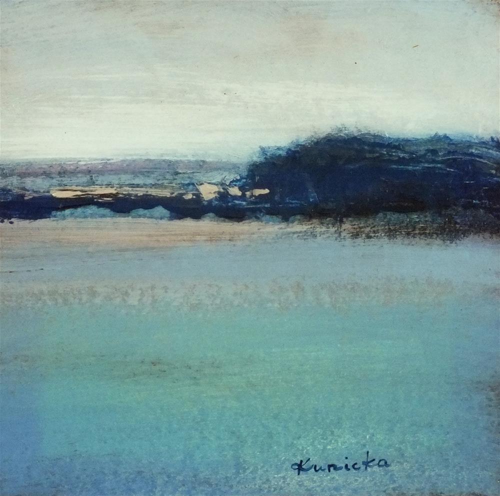 """Landscape 191"" original fine art by Ewa Kunicka"
