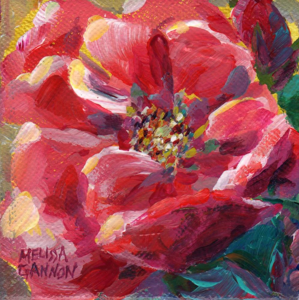 """Spring Time Rose"" original fine art by Melissa Gannon"