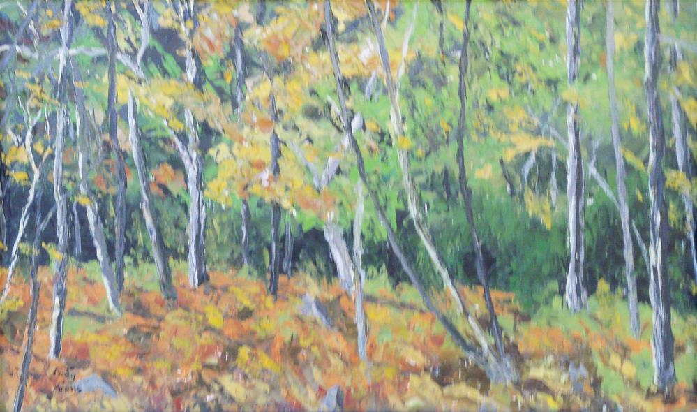"""Fall Colors"" original fine art by Greg Arens"